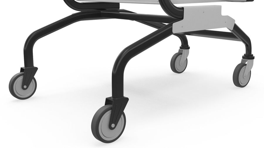 Smart Shopping Cart royalty-free 3d model - Preview no. 17