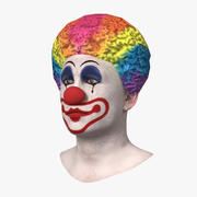 Clown Head 3d model