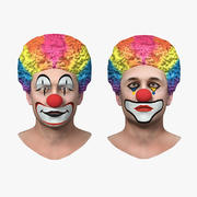 Clown Heads Collection 3d model