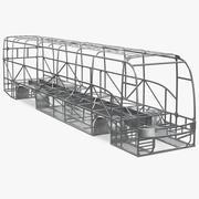 Estrutura da estrutura do ônibus 3d model
