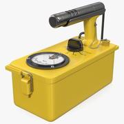 Civil Defence Geiger Counter 3d model