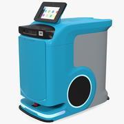 자율 병원 배송 로봇 3d model