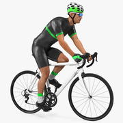 Bisikletçi Binme Bisikleti Arma 3d model