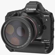 佳能1DX变焦镜头24 70 3d model