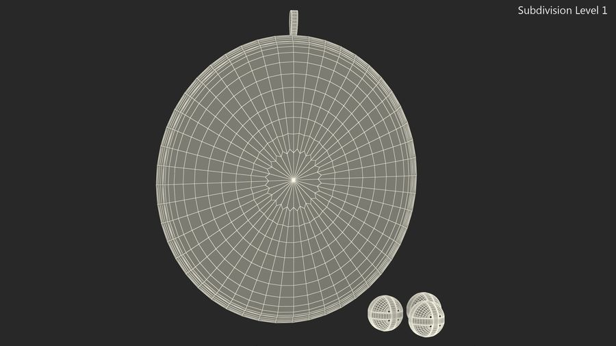 Classic Sticky Target Board Game Set royalty-free 3d model - Preview no. 17