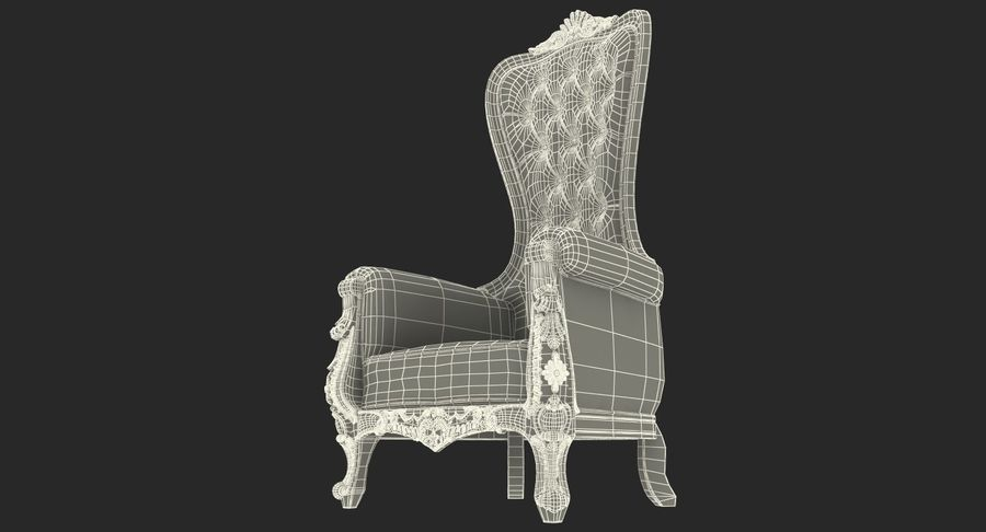 Furnishings Collection 5 royalty-free 3d model - Preview no. 93