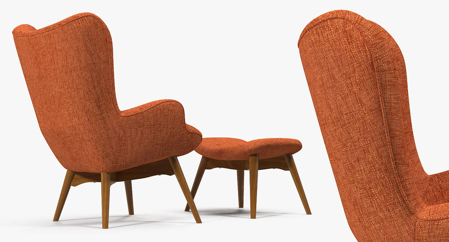Furnishings Collection 5 royalty-free 3d model - Preview no. 43
