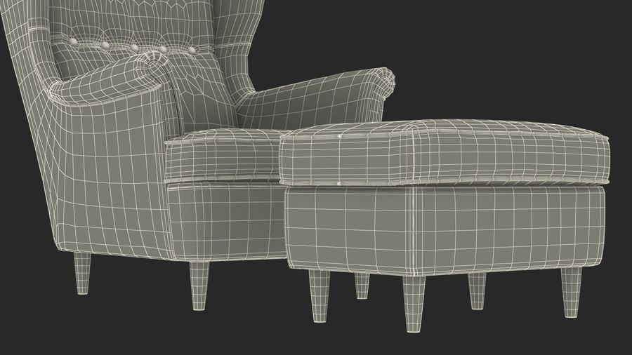 Furnishings Collection 5 royalty-free 3d model - Preview no. 86