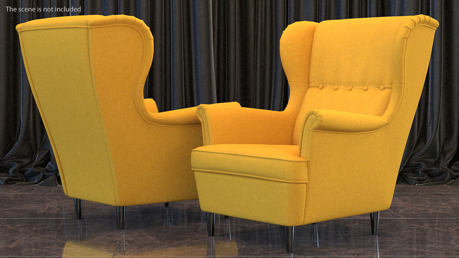 Furnishings Collection 5 royalty-free 3d model - Preview no. 5