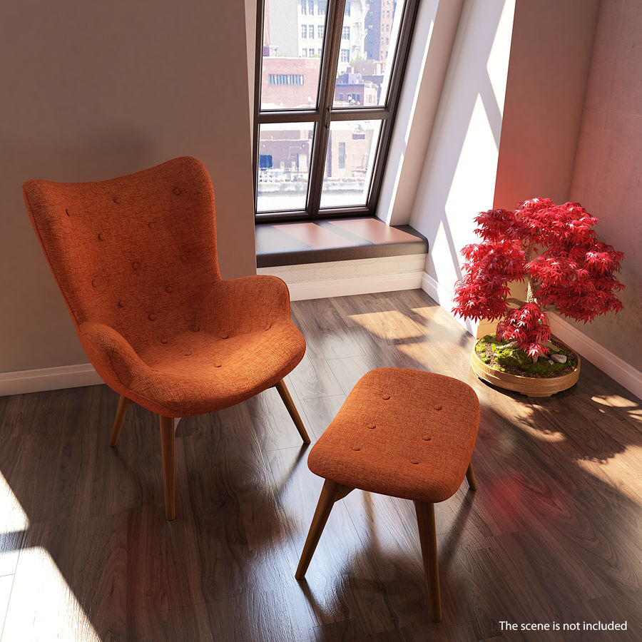 Furnishings Collection 5 royalty-free 3d model - Preview no. 41