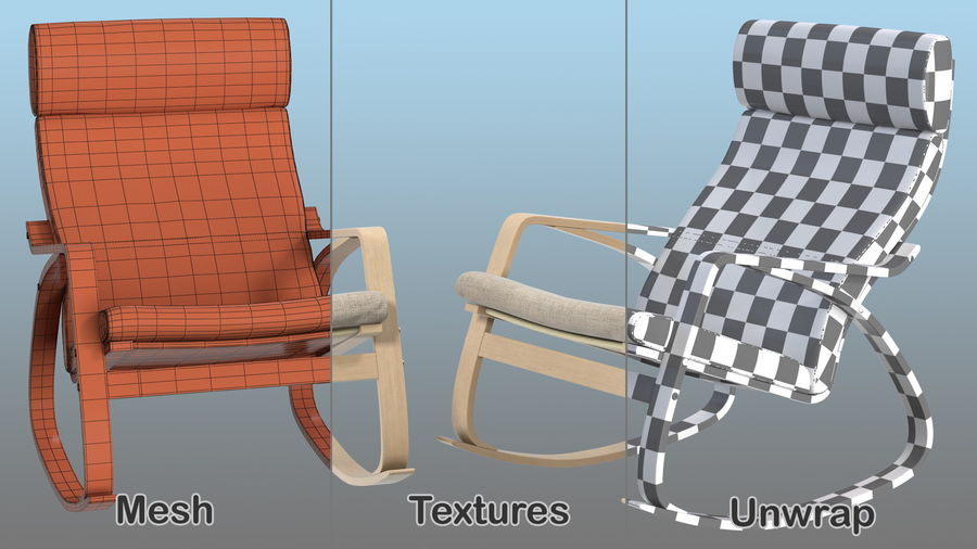 Furnishings Collection 5 royalty-free 3d model - Preview no. 27