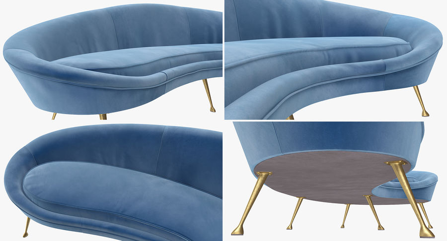 Furnishings Collection 5 royalty-free 3d model - Preview no. 84