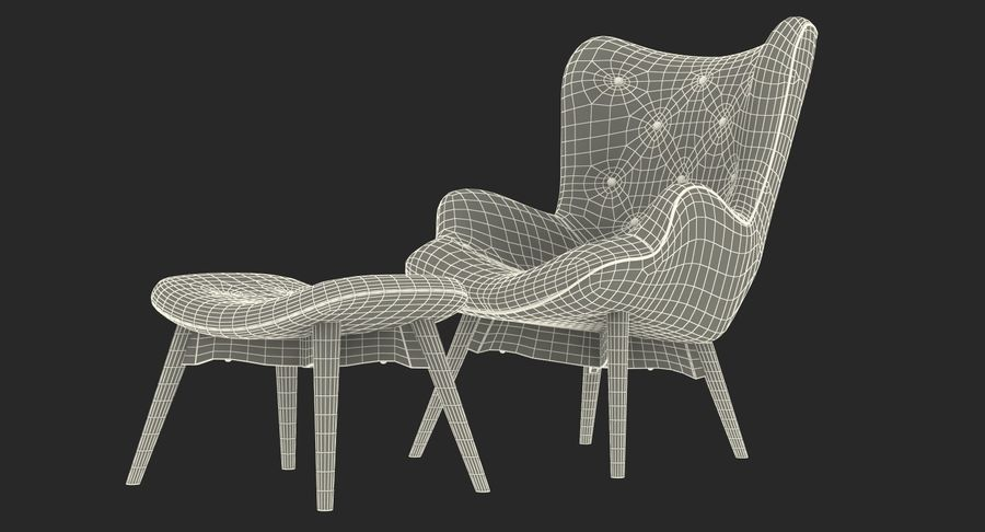 Furnishings Collection 5 royalty-free 3d model - Preview no. 90