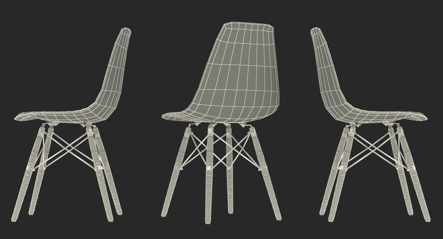 Furnishings Collection 5 royalty-free 3d model - Preview no. 95