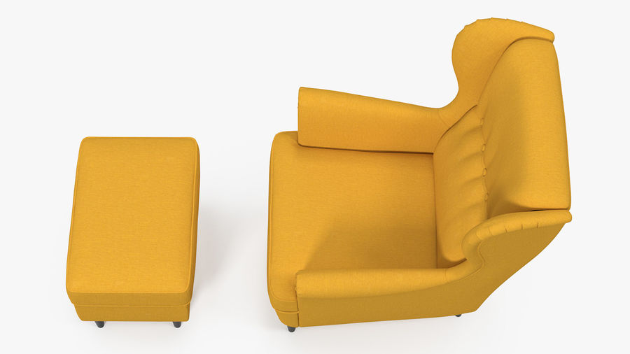 Furnishings Collection 5 royalty-free 3d model - Preview no. 8