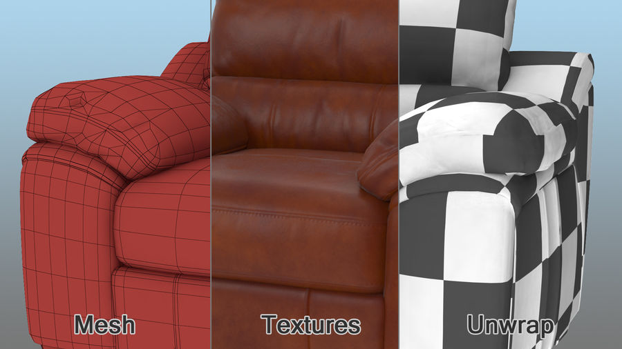 Furnishings Collection 5 royalty-free 3d model - Preview no. 15
