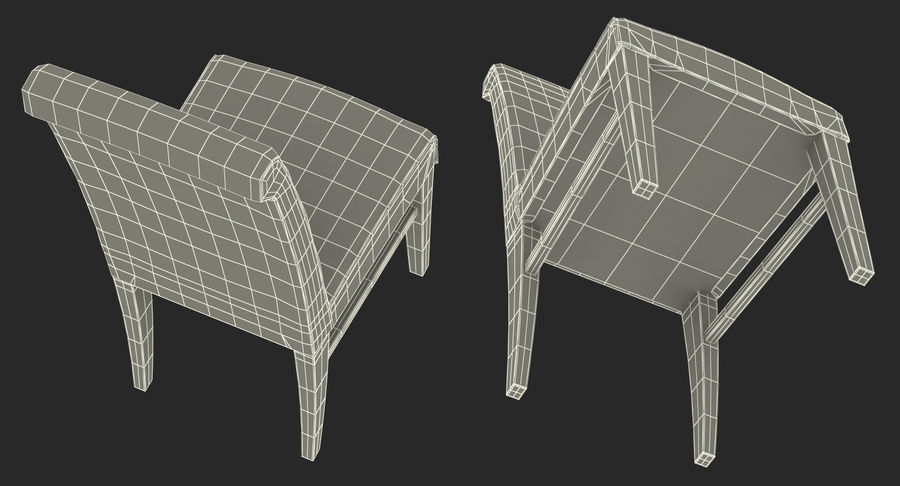 Furnishings Collection 5 royalty-free 3d model - Preview no. 91
