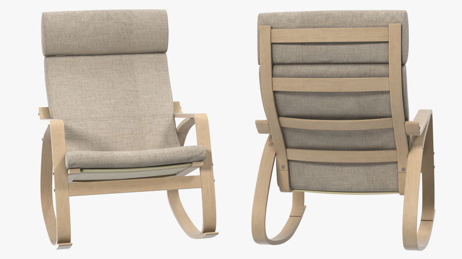 Furnishings Collection 5 royalty-free 3d model - Preview no. 29
