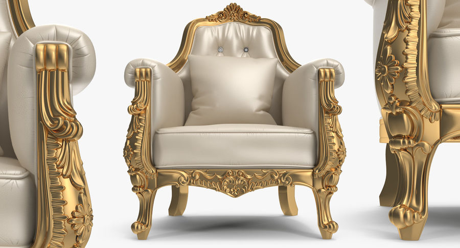 Furnishings Collection 5 royalty-free 3d model - Preview no. 68