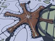 北京大興国際空港 3d model