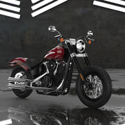 Harley Davidson Softail Slim 2020 3d model
