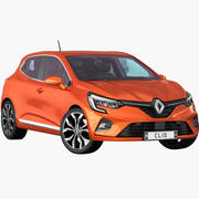 Renault Clio 2020 3d model