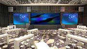 Salle de réunion de l'hôtel5 3d model