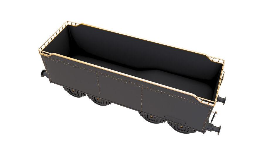 Stora samlingslok och tågvagnar royalty-free 3d model - Preview no. 67