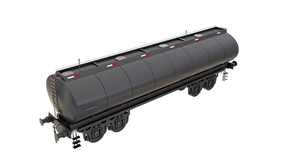 Stora samlingslok och tågvagnar royalty-free 3d model - Preview no. 54