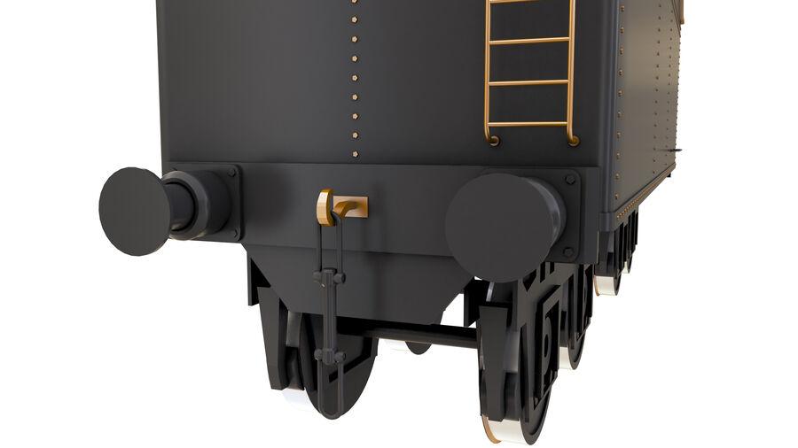 Stora samlingslok och tågvagnar royalty-free 3d model - Preview no. 69