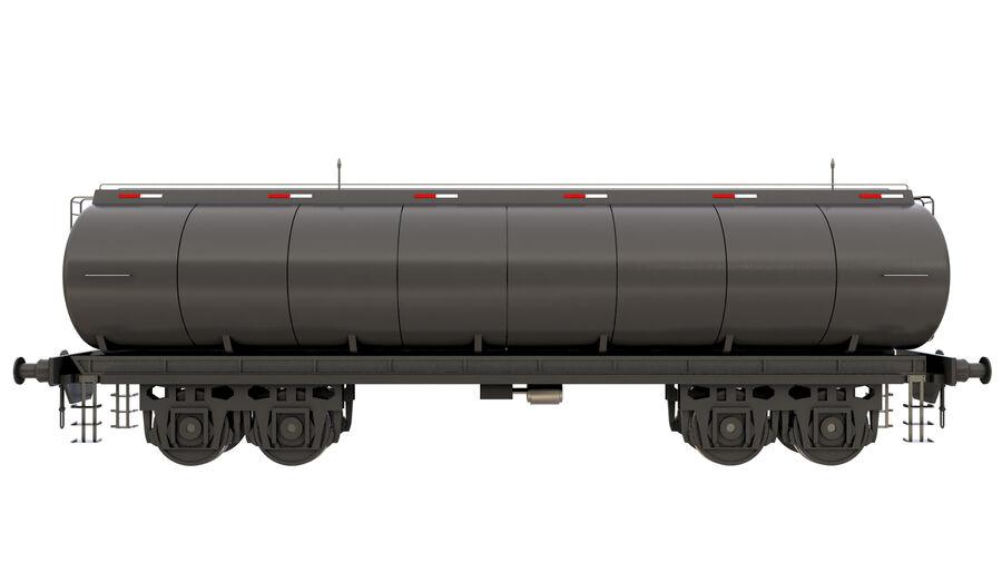 Stora samlingslok och tågvagnar royalty-free 3d model - Preview no. 47