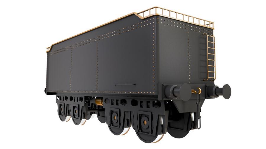 Stora samlingslok och tågvagnar royalty-free 3d model - Preview no. 5