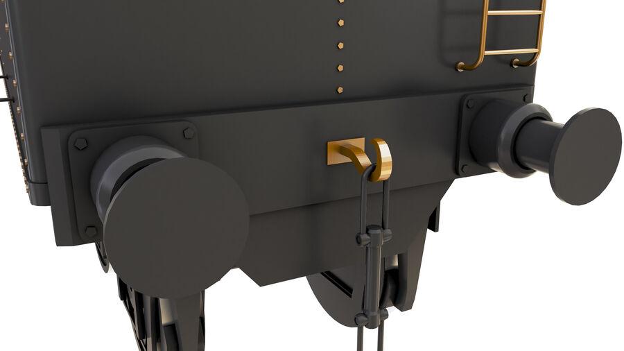 Stora samlingslok och tågvagnar royalty-free 3d model - Preview no. 68