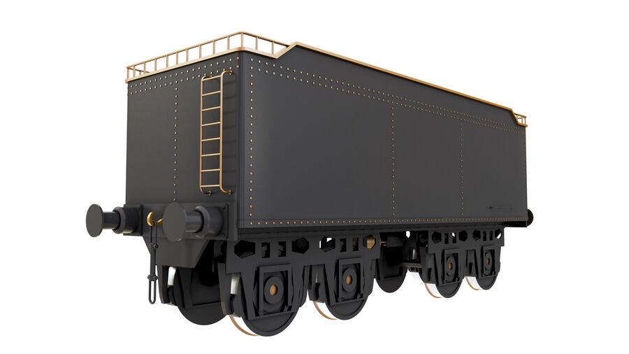 Stora samlingslok och tågvagnar royalty-free 3d model - Preview no. 64
