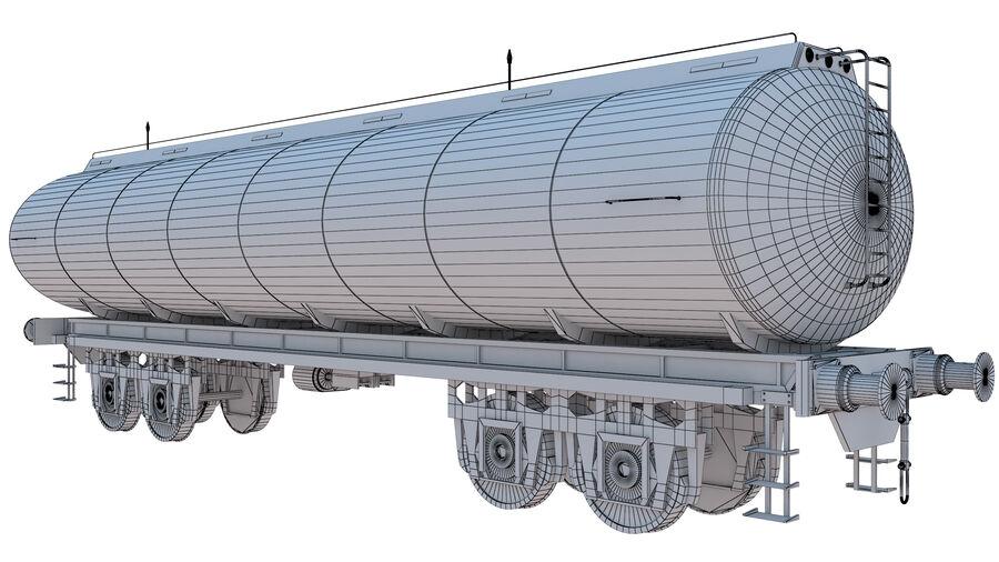 Stora samlingslok och tågvagnar royalty-free 3d model - Preview no. 62