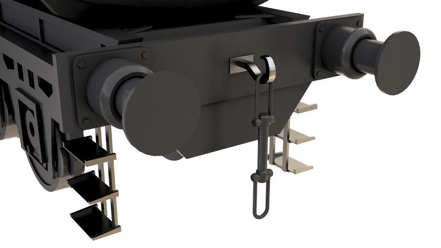 Stora samlingslok och tågvagnar royalty-free 3d model - Preview no. 51