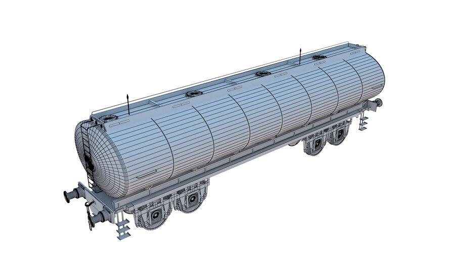 Stora samlingslok och tågvagnar royalty-free 3d model - Preview no. 57