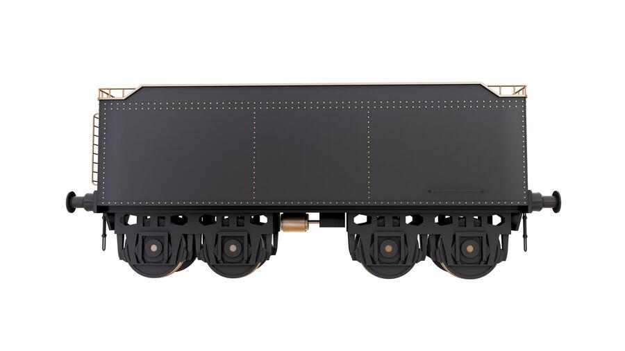 Stora samlingslok och tågvagnar royalty-free 3d model - Preview no. 66