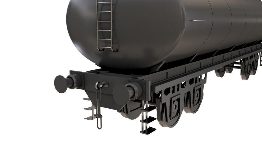Stora samlingslok och tågvagnar royalty-free 3d model - Preview no. 48