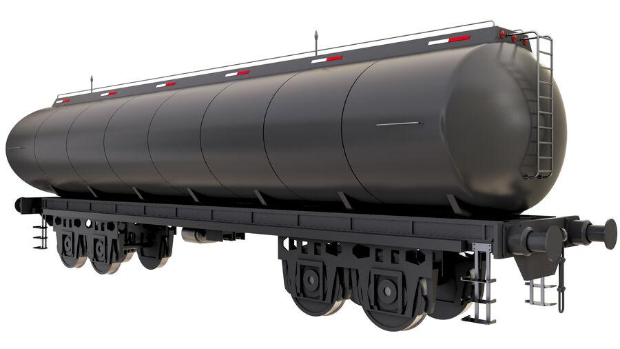 Stora samlingslok och tågvagnar royalty-free 3d model - Preview no. 4