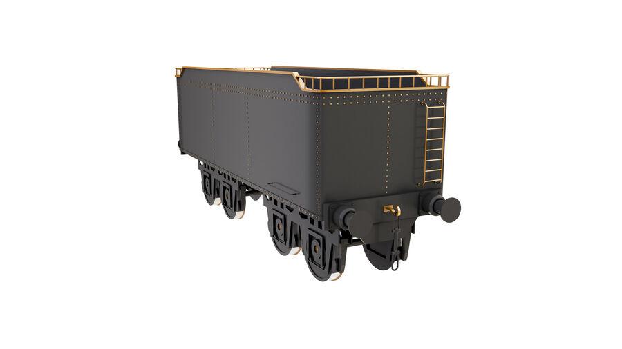 Stora samlingslok och tågvagnar royalty-free 3d model - Preview no. 73