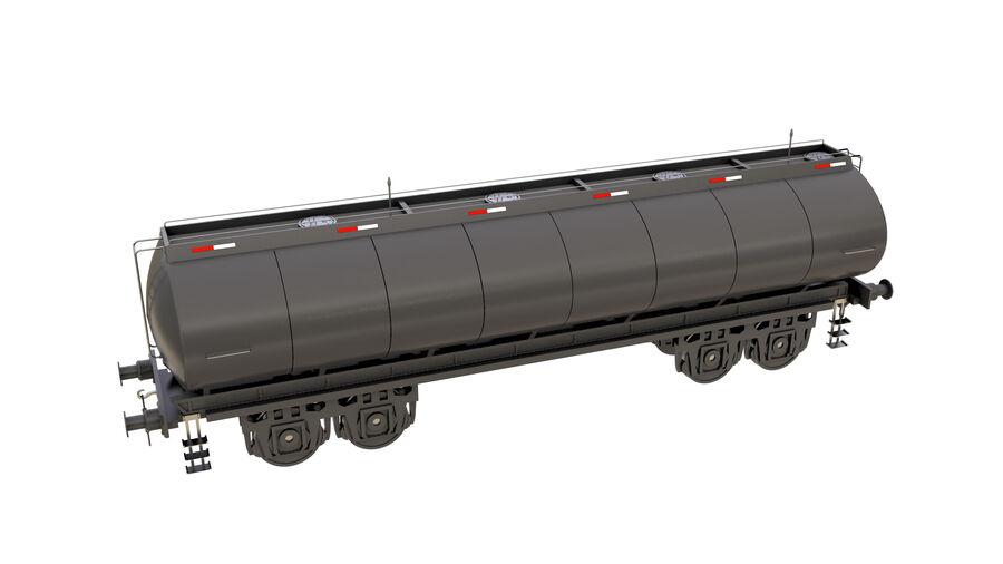 Stora samlingslok och tågvagnar royalty-free 3d model - Preview no. 53
