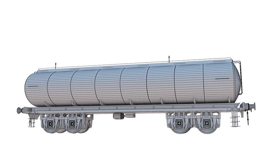 Stora samlingslok och tågvagnar royalty-free 3d model - Preview no. 56