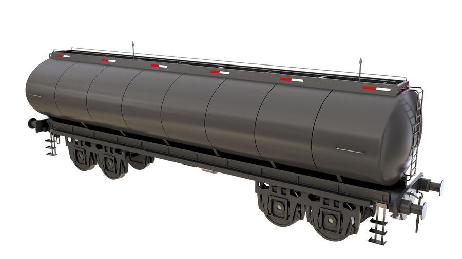 Stora samlingslok och tågvagnar royalty-free 3d model - Preview no. 46
