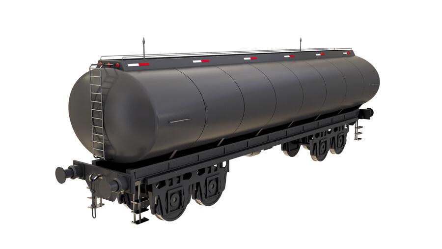 Stora samlingslok och tågvagnar royalty-free 3d model - Preview no. 45