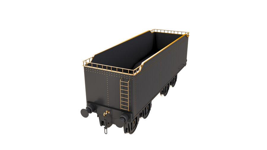 Stora samlingslok och tågvagnar royalty-free 3d model - Preview no. 65