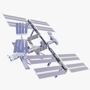 国際宇宙ステーション 3d model