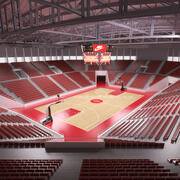 Basketball Arena 01 3d model