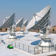 Radio Telescopes 3d model