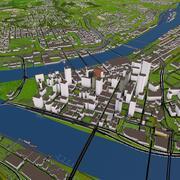Pittsburgh City 3D 3d model